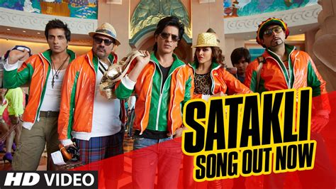 new year vachessindi song official satakli song happy new year shah rukh khan sukhwinder singh
