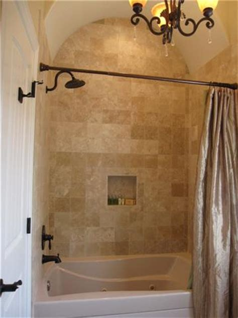 tile bathtub shower combo travertine tile bathtub shower combo surround design ideas oil rubbed bronze