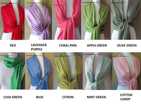 Set Alby Gamis Pashmina pashmina scarf set choose any 4 colors bridesmaid gift idea wedding on storenvy