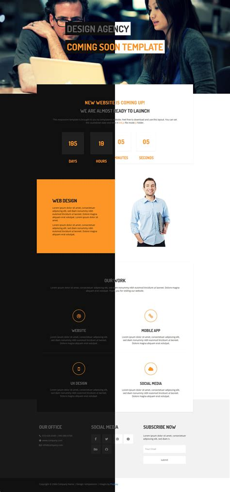 bootstrap v3 themes template 462 coming soon