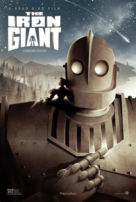 the iron giant the iron giant signature edition poster