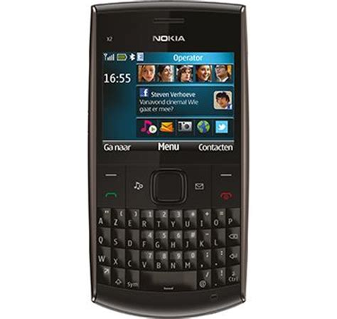 Handphone Nokia X2 Qwerty nokia x2 01 black bluetooth qwerty unlocked quadband cell