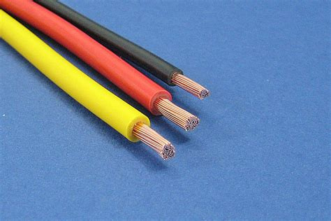 automotive electrical wire standard cable