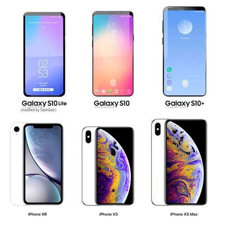Iphone Xr Vs Samsung Galaxy S10 Plus by три флагманских смартфона Samsung Galaxy S10 нацелены на конкуренцию с Iphone Xr Iphone Xs и Xs Max