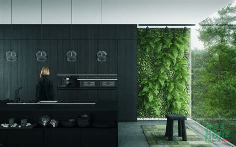 41 inspiring black and white kitchen design freshouz