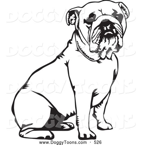 Colored English Images Bulldog Coloring Pages