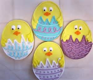 Easter Cookie Decorating Ideas Cupookie Easter Cookies