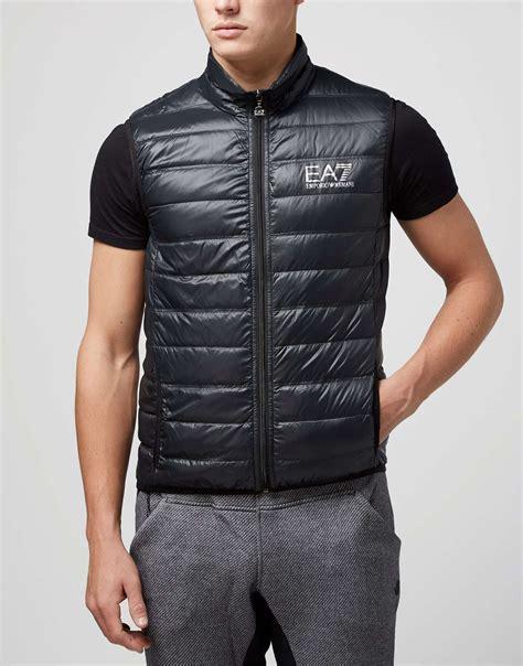 emporio armani ea core lightweight gilet scotts menswear