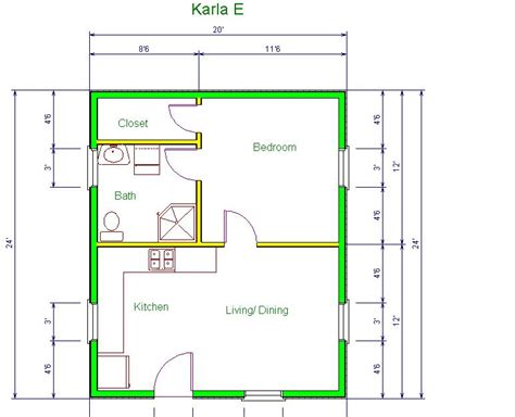 10 x 20 cabin floor plan cabin floor plans 20 x 24 home deco plans