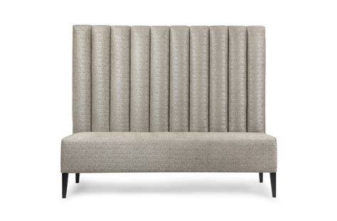 fluted banquette banquet seating the sofa chair company