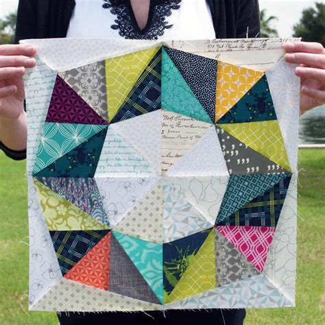 Fractal Quilt by Fractal Quilt Block By Pattysloniger Craftsy
