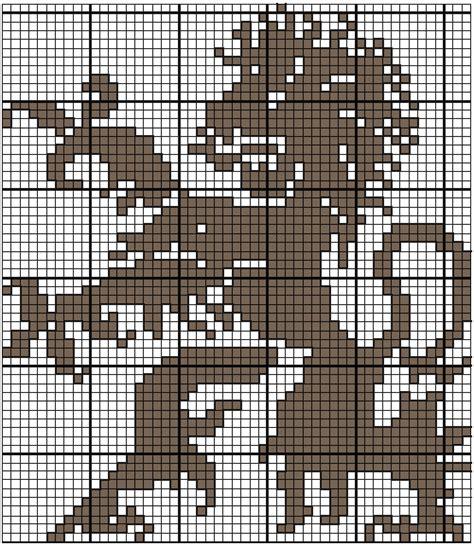 knitting charts free knitting chart heraldic from the new