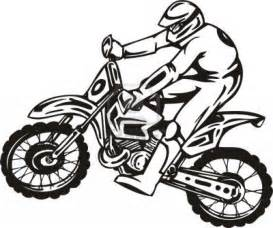 Kids dirt bikes coloring pages