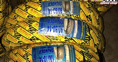 Ban Motor Tubeless 80 80 14 Sb108 Thunder Tl palex motor parts tayar thunder size 14 quot tubeless