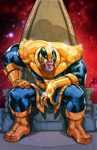 Infinity Gauntlet Thanos Thanos By Miacabrera On Deviantart