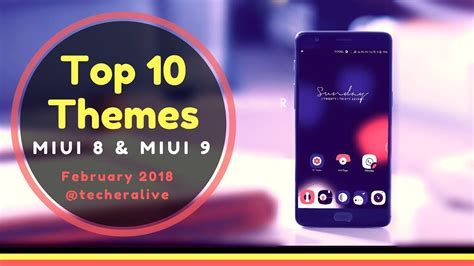 miui theme keeps going back to default top 10 fresh new themes for miui 8 and miui 9 february