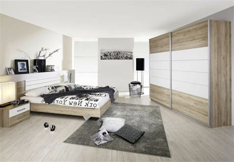 schlafzimmer new york style le sommier du lit pour chambre 224 coucher archzine fr