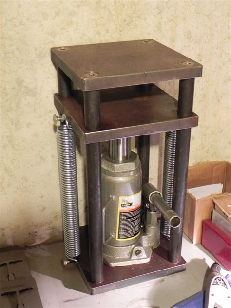 thread bending metal with a hydraulic press images frompo