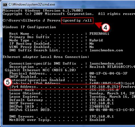 Lookup Computer Name By Ip Address How To Find A Computer S Ip Address In Windows 7