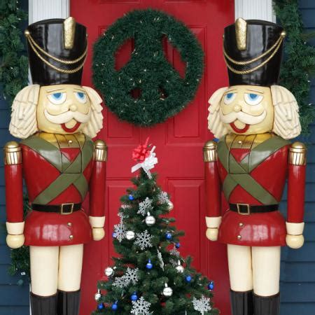 outdoor nutcrackers for sale at lowes heinimex sized nutcracker 6