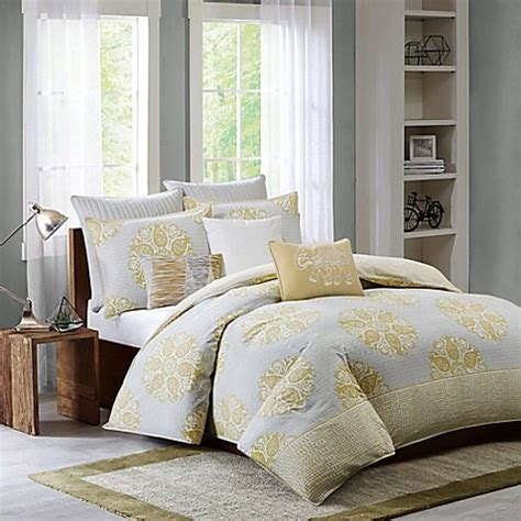 ivy comforter set ink ivy melbourne comforter set bed bath beyond