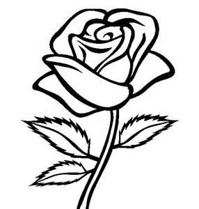 mewarnai bunga mawar untuk anak perempuan