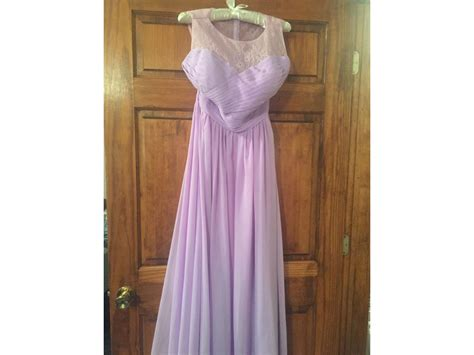 jj s house other jj s house chiffon lace a line floor length size 14 bridesmaid dresses