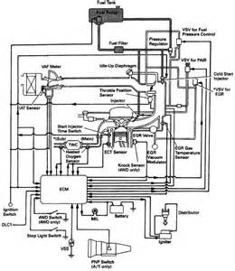 Fuel System Electrical Diagram Toyota 4runner Multiport Fuel Injection Mfi Schematic Diagram