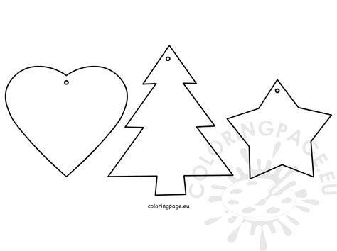 heart tree coloring page christmas tree ornaments star heart tree coloring page