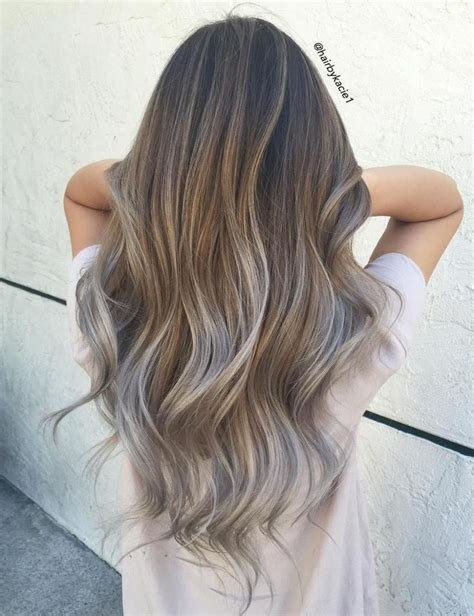 putting silver on brown hair 25 best ideas about ash balayage on pinterest ash ombre