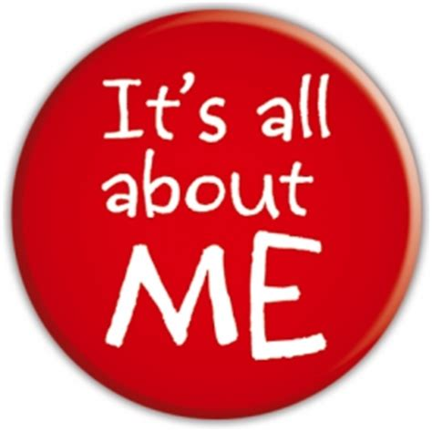 About Me Me Me - its all about me badge 365games co uk