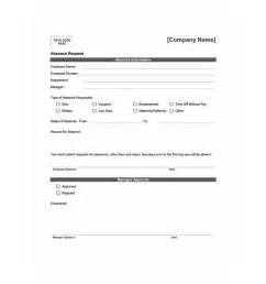 Time Request Form Template employee time request template images