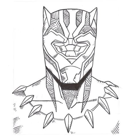 black panther coloring book black panther drawing coloring pages