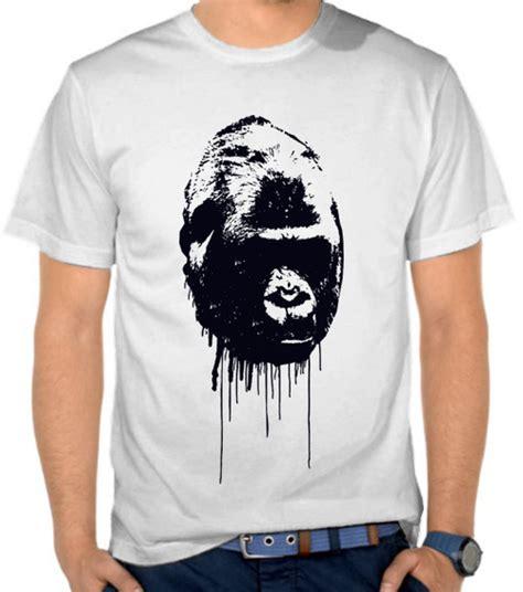 Kaos Kingkong Hitam jual kaos king kong toko baju binatang satubaju beli baju