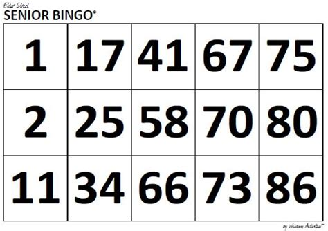 large print bingo card template 24 images of large print bingo template tonibest