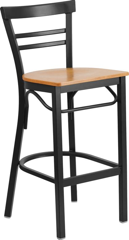 black metal bar stool adelina black metal bar stool natural finish wood seat