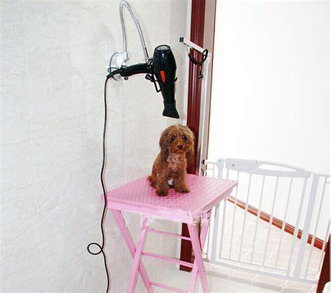 Diy Portable Hair Dryer aliexpress buy hair dryer holder for pet adjustable