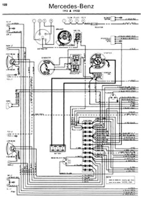 repair manuals mercedes benz    wiring diagrams