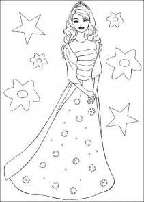 barbie princess coloring pages printable 7 pictures bratz blog