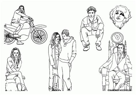 twilight saga coloring pages coloring home