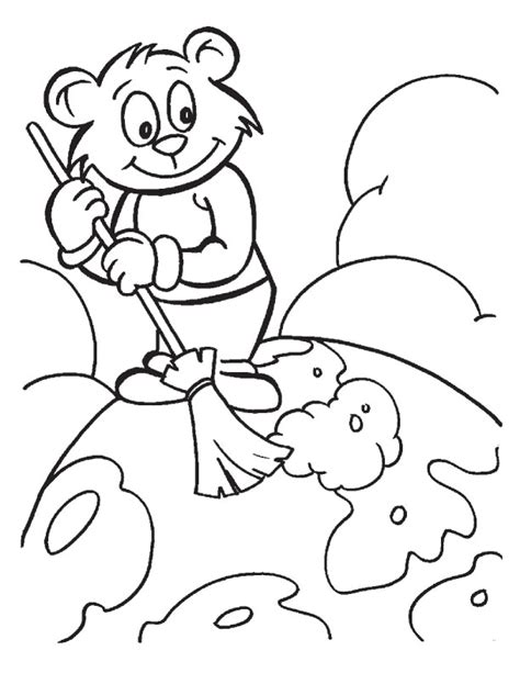 clean earth coloring pages earth color pages az coloring pages