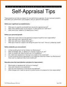 8 self appraisal examples appeal leter
