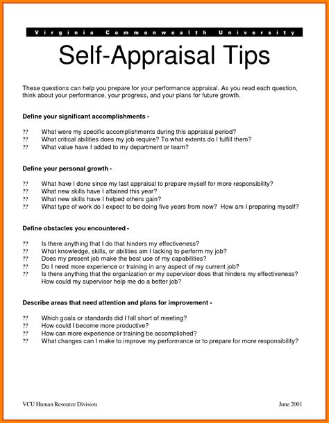 Performance Evaluation Appeal Letter 8 Self Appraisal Exles Appeal Leter