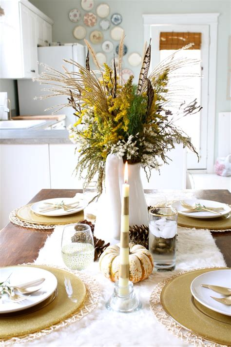Thanksgiving Dining Table Decorations Gorgeous Dining Table Fall Decor Ideas For Every Special Day In Your