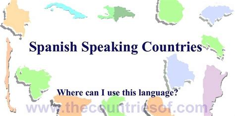 which countries speak list of all speaking countries and their capitals