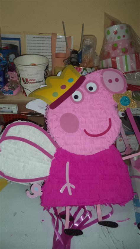 hacer con globos la pepa como hacer pi 241 ata peppa pig diy how to make a pinata