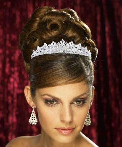 tiara hochzeit luxus diadem strass haarreif tiara hochzeit kommunion