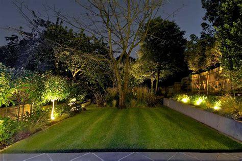 garden lighting design in landscape lighting