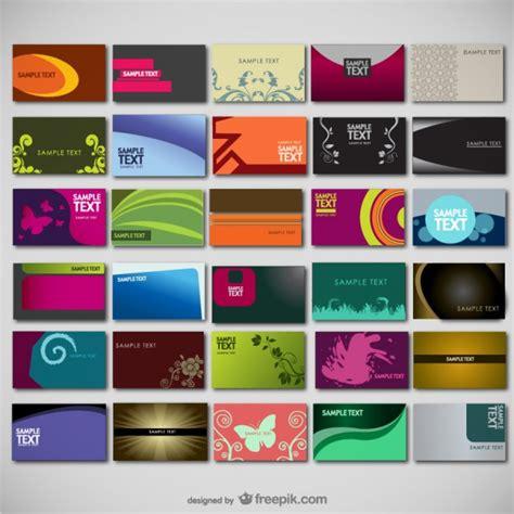 Visitenkarten Hintergrund Vorlagen Kostenlos by Gro 223 E Sammlung Vorlagen Der Kostenlosen Vektor