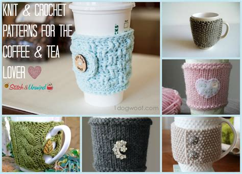 free knitting pattern coffee cup sleeve hug that mug patterns for the coffee tea lover stitch